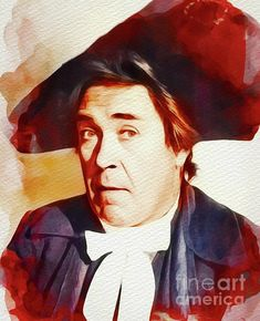 Peter Butterworth, Carry On Films Cast by Esoterica Art Agency Cast Art, Butterworth, All Print, Carry On, Fine Art America, Giclee Print, It Cast, Classic, Artwork