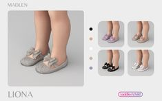 Sims 4 Toddler Clothes, Sims 4 Cc Kids Clothing, Sims 4 Mods Clothes, Toddler Girl Shoes, Baby Shoes, Sims 4 Body Mods, Sims Mods, Lizzy Shoes, Maxis