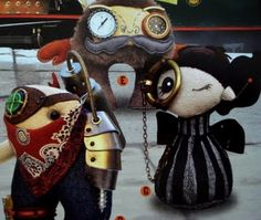 more steampunk dolls