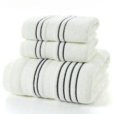 Cotton Bath Towel – Stylish Splash Shower Towel, Bathroom Towels, Bath Towels, Bath Shower, Striped Towels, White Towels, Towel Rod, Face Towel, Bath Towel Sets