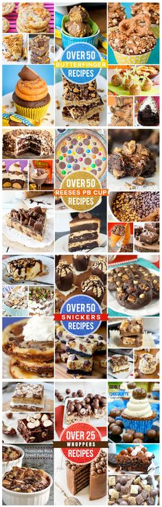 Leftover Halloween candy? Here are some amazing ways to use it up, recipes with Butterfingers, Reeses's Peanut Butter Cups, Snickers and Whoppers!