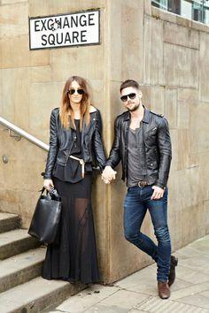 Shely Bianchi: Street Style - Couple