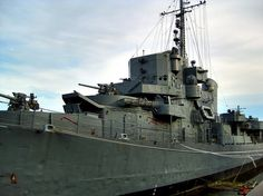 Albany NY, USS Slater, last of the Destroyer Escorts used during WW11. Thankfully, it's opened to the public...