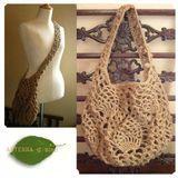 Crochet bag with patterns Macrame Design, Crochet Gifts, Crochet Bags, Plant Hanger, Tatting, Purses And Bags, Diy And Crafts, Crochet Patterns, Bag Patterns