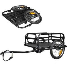 Veelar Foldable Bicycle Cargo Trailer Shopping/Utility Tr...