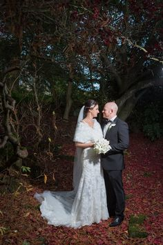 Whirlowbrook Hall Winter November Wedding Bride and Groom