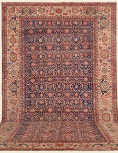 "SERAPI, Northwest Persian Antique Rug 11' 8"" x 19' 8"" — Circa 1900- Claremont Rug Company"