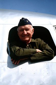 During World War II Gail Halvorsen dropped candy to the children in Germany.  He was the original Candy Bomber.