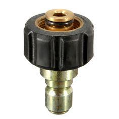 Hembra M22 x 3/8 Inch Conector macho de conexión rápida Conector para lavadoras a presión