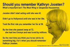 Why Kathryn Joosten rocks!