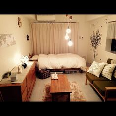 Enjoy Warmth And Comfort With Traditional Interior Design Apartment Room, Room Interior, Bedroom Design, Small Room Interior, House Rooms, Home Decor, House Interior, Apartment Decor, Room Layout