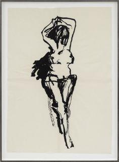 Tracey Emin 'Crucified and Strung' 2014 Figure Sketching, Figure Drawing, Modern Art, Contemporary Art, Tracey Emin, A Level Art, Environmental Art, Life Drawing, Art Sketchbook
