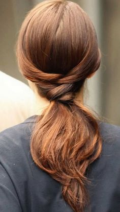 14 Stylish Ways To Wear A Ponytail - cause we are tired of boring ponytails! AMS