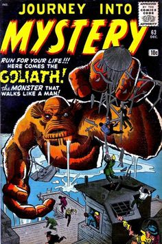 Journey into Mystery. Goliath.   #JourneyIntoMystery #Monsters #Goliath