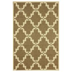 nuLOOM Modern Indoor/ Outdoor Moroccan Trellis Taupe Rug (5' 3 x 7' 9) | Overstock.com Shopping - Great Deals on Nuloom 5x8 - 6x9 Rugs
