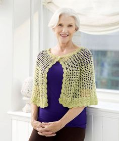 Capes to Crochet – 19 free patterns – Grandmother's Pattern Book