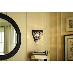 shop allen roth eberline 9in w 1light bronze directional hardwired wall