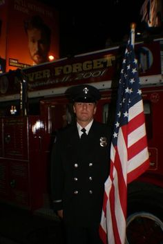 San Miguel/Heartland Fire Fighters from San Diego participated in the 10th anniversary ceremony on the evening of 9/11/11 in Times Square. - Photo by Amy Laurel Hegy @A Tale of Two Tramps