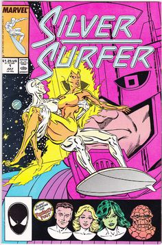 Silver Surfer No. 1  I recall reading this in high school--still an amazing character and great stories.