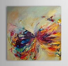 3001 handmade modern abstract decorative butterfly picture oil painting on canvas wall art for living room as unique gift $45.00