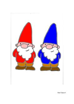 Kabouters Hand Painted Rocks, Finger Puppets, Colouring Pages, Cartoon Drawings, Gnomes, Cartoon Characters, Kindergarten, Quilts, Crafts