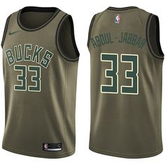 Men s Nike Milwaukee Bucks John Henson Green Salute to Service NBA Swingman  Jersey 9adfb1661
