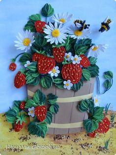 Slikarstvo paneli obrazac nabran porub Rođendan Ljeto - mali život fotopapir traka 10