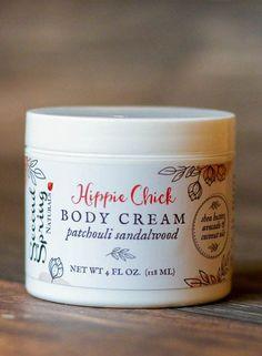 Patchouli Body Cream - Hippie Chick