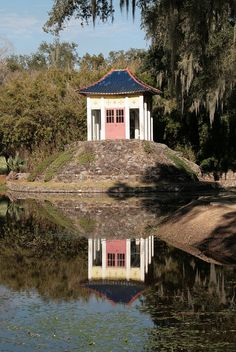 Buddha at Avery Island, Louisiana  This is just a few miles from my Home.