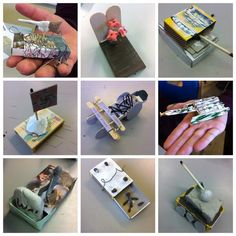 """""""Great lesson with working on their inspired artworks using a simple matchbox as a starting point Project Ideas, Art Projects, Matchbox Art, Teaching Art, Homework, Ww2, World War, Peace, School"""