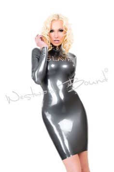 Slave Dress as worn by the International Fetish Supermodel Susan Wayland. This luscious example of latex clothing says it all! ...