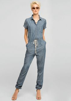 e3ab451ffd1 Charlie Denim Jumpsuit Jeans For Tall Women