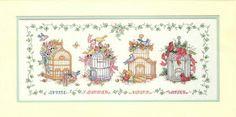 4 seasons birdhouses
