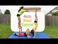 Acro Stunt Tutorial - YouTube