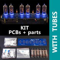 DIY kit Nixie Tubes Clock Arduino Shield NCS314 on IN-14 Nixie Tubes[WITH TUBES] | Consumer Electronics, Gadgets & Other Electronics, Digital Clocks & Clock Radios | eBay!