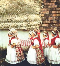 Folk Costume, Costumes, Hungarian Embroidery, Folk Dance, Hungary, Budapest, All Things, Traditional, Homeland