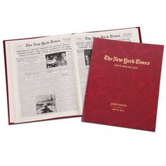 The Complete New York Times Of Your Birth Date by Hammacher Schlemmer