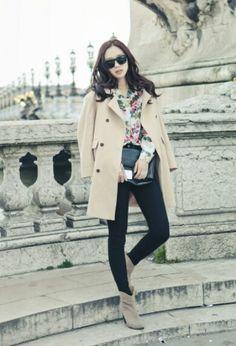 Korean fashion / Pinkage ulzzang : Park Sul (박슬)