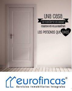 Si buscas un hogar, necesitas Eurofincas     🔑 Eurofincas - (34) 93 476 49 69 | Roger de Lluria, 116 08037 – Barcelona    🔑 Eurofincas St. Cugat | (34) 93 675 08 04  c. Sant Antoni, 52