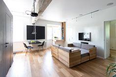 Aménagement d'un appartement avec des meubles modulables - Visit the website to see all pictures http://www.amenagementdesign.com/decoration/amenagement-appartement-avec-meubles-modulables/