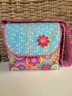 Kindergartentasche *Bunte farben* von * Creative Happiness * auf DaWanda.com