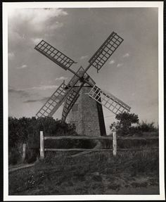 Commonwealth, Nantucket, Windmill, 1930s, Holland, Survival, Louvre, Old Things
