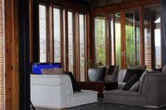 Living Rooms: Casa en el Agua - Li Xiaodong Atelier #decor