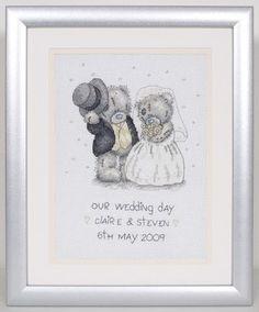 Our Wedding Day - Tatty Teddy Cross Stitch Kit