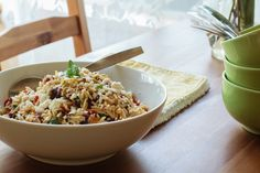 Roasted Vegetable Orzo. Recipe from Barefoot Contessa. So good! More