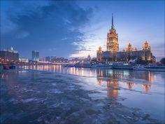 "Russia. Moscow. Hotel Radisson ""Ukraine"". by Yuri Degtyarev on 500px"