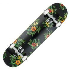 GLOBE Full On black hibiscus pack skateboard complet 8 pouces 85,00 € #skate #skateboard #skateboarding #streetshop #skateshop @playskateshop