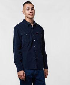 Levi's Jeans, Tröjor m. Denim Button Up, Button Up Shirts, Levis Jeans, Sky, Tops, Fashion, Heaven, Moda, Fashion Styles