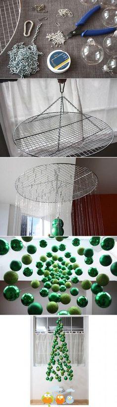 Sapin 3D flottant