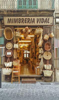 Barrio de Sa Gerreria en Palma, Islas Baleares. Mallorca  Spain